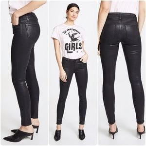 PAIGE Verdugo Ultra Skinny Jeans in Black Fog
